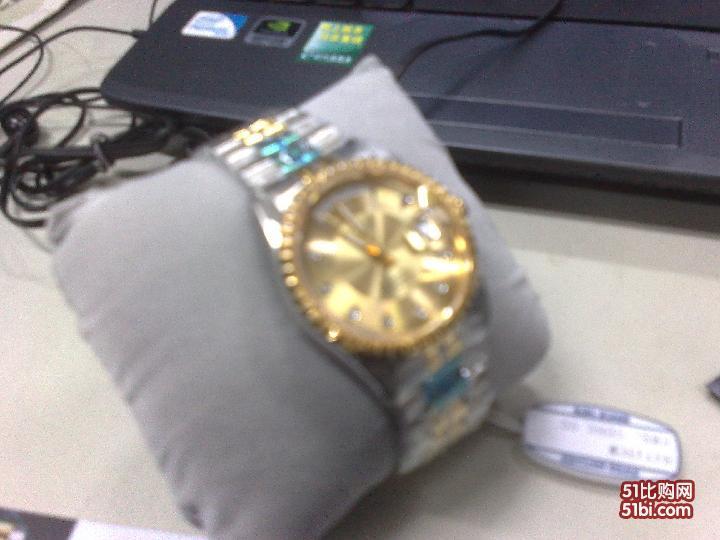 刚刚在京东网上买的瑞士宝路华手表