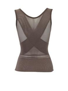 百利安灰色女士塑身衣00865,XL