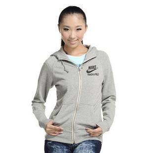 NIKE(耐克)AS RU NTF READ FZ HOODY女式针织夹克-524040-063