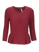 MAX&CO多色混合材质时尚拼色女士套头衫,Maglia,SAX,3,42