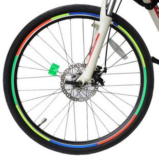 Danath岱纳森 单车轮胎反光贴 风火轮 荧光贴(单张)