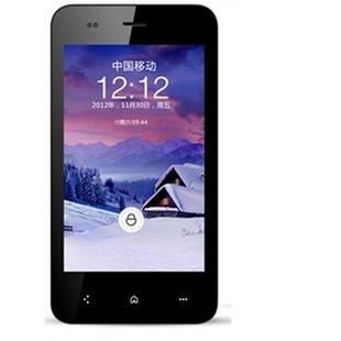 凯利通i51 双卡双待 1G双核 4寸高清屏 安卓4.0 摄像 智能手机