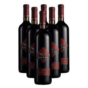 【酒仙网】澳洲禾富888美乐干红葡萄酒(6瓶套装) 红酒