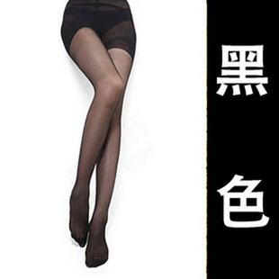 麦衣饰 春夏新款 超薄 透明丝袜 性感连裤袜 打底袜子 女瘦腿袜 黑色