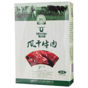 科尔沁 风干牛肉150g原味