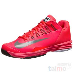 Nike Lunar Ballistec Laser 网球鞋 红