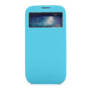 x-doria(道瑞)三星Galaxy S4 I9500/I9508/I959/I9502博锐系列带天窗显示保护皮套 柠檬黄