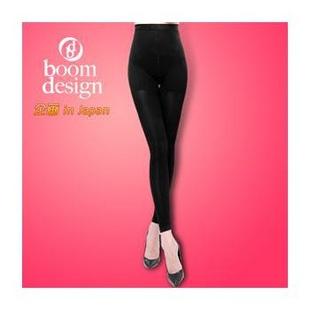 日本Boomdesign 420D春秋用瘦腿袜(九分裤) S/155以下