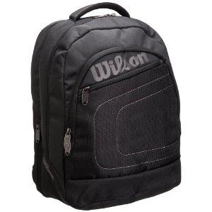 Wilson 维尔胜 Club Backpa Bag BK 2013年2-3支装网球背包 WRZ852395 黑色