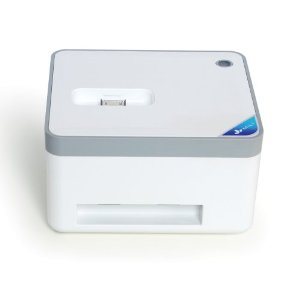 MiLi 米力 MiLi photo printer 苹果认证 全球首款时尚微型照片打印机 支持iphone4/4s/智能手机(系统为android2.0以上)打印照片(HI-T36白色)