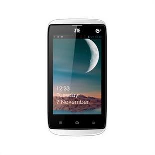 ZTE/中兴 U809 移动3G手机 4.0英寸屏 双核1.2GHz 新安卓4.2操作系统白色官方标配