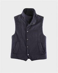羊毛混纺棉服保暖马甲