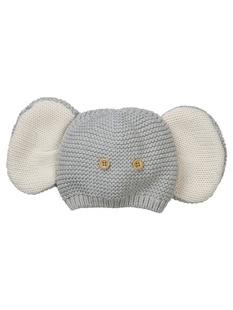 大象造型针织帽