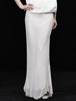 LSG本白色长裙8A33820401170,XL,13Q3