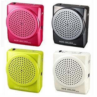 新在线N74教学腰挂扩音器 老年娱乐唱戏机 晨练音箱扩音机