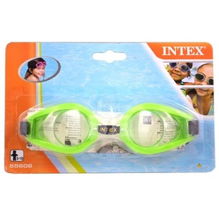 INTEX 趣味泳镜(绿色)55602