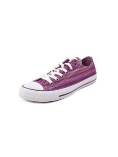 CONVERSE / 紫色彩条帆布鞋