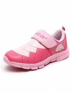 女童红色休闲鞋