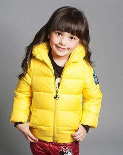 中性黄色棉衣