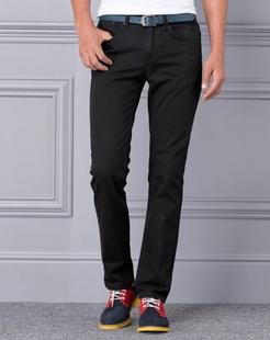 黑色时尚百搭牛仔裤