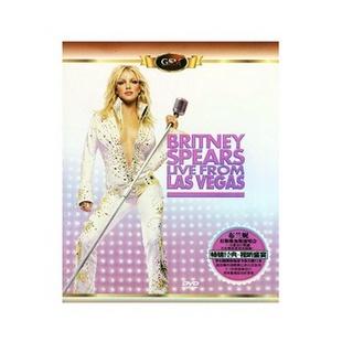 布兰妮:拉斯维加斯演唱会(蓝盒 DVD)