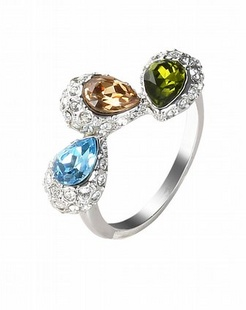 色彩斑谰时尚戒指