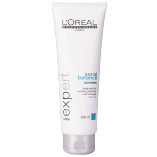 L'OREAL 欧莱雅 沙龙洗护系列 头皮舒缓按摩霜 250ml(进口专业洗护)