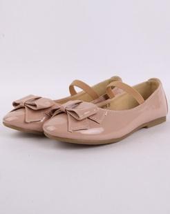 女童粉红时尚可爱皮鞋