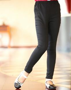 女童黑色打底裤