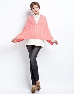 红色孕妇毛衣