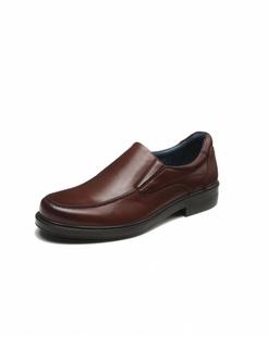 棕色牛皮单鞋