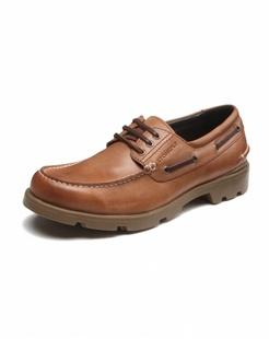 浅棕色牛皮单鞋