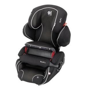 货到付款 德国Kiddy 守护者二代 9个月-12岁快捷固定汽车儿童安全座椅(玫红色)