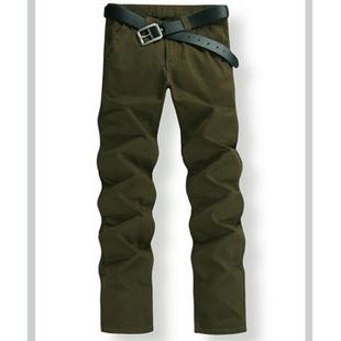 2014新款经典时尚男士精品纯棉水洗大码休闲裤2HB 868 黑色 34