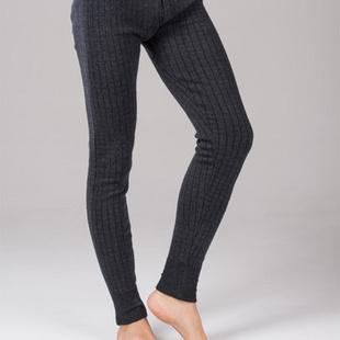 2013冬季新款凤凰男式羊毛羊绒加厚保暖裤 深灰色 115/185
