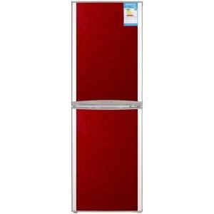 奥马(Homa) BCD-186F 186升 双门冰箱 威尼斯红
