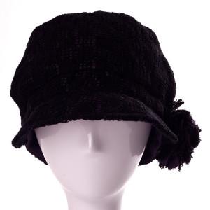 蕾丝大花典雅鸭舌帽