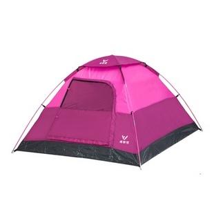 威野营V-CAMP户外三人帐篷 露营帐篷(蓝色)