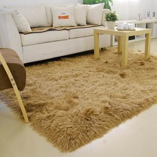 富居地毯 th888 韩国丝新品系列 卧室茶几地垫1.4m*2m(美罗-咖)