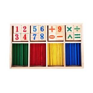 熙悦 儿童炫彩数字棒数字计算游戏盒 儿童益智玩具
