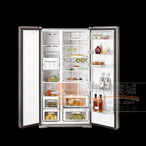 进口德国Teka德格冰箱独立式对开门冰箱NFD620(韩国原装进口) 1790*895*730mm韩国原装进口,独立式对开门冰箱,618L,净容量555L,10KG的冷冻能力,1.48的日耗电量!