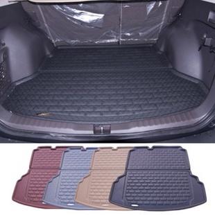 爵尚大众途安专用后备箱垫 途安后箱垫尾箱垫(黑色)