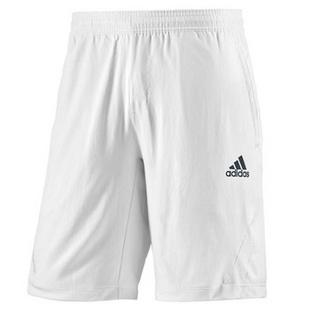 阿迪达斯 Adidas Mens BarricadeSho 9.5 短裤穆雷13年澳网球服 Z08947白色 XXL