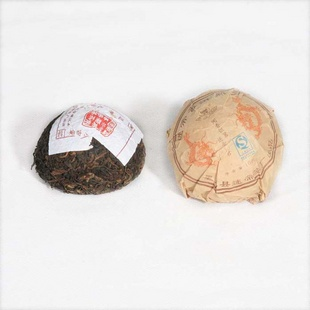 云南特产 云顶茶叶 迷帝普洱青沱100g