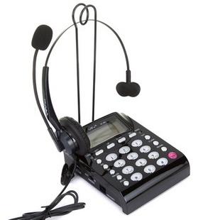 亚尔亚(YEY)VE800 呼叫中心话务员专用 耳机电话