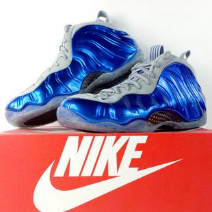 Nike Air Foamposite One penny魔术蓝喷 314996-401 送多色鞋带 45