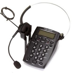 亚尔亚(YEY)VE-650 呼叫中心专业话务耳机电话