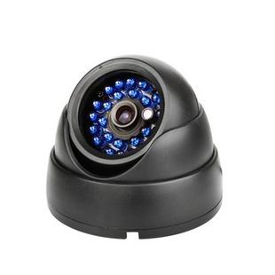 25米600线高清半球监控摄像机