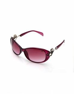 女款紫色时尚经典太阳镜