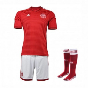 adidas阿迪达斯2014新款足球服男装世界杯国家队丹麦透气专业服套装G87137+G75097+G75103